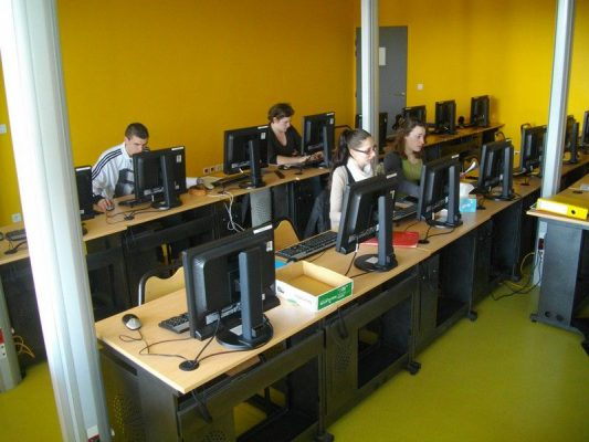 Salle Informatique CFA Seine Maritime Yvetot Naturapôle