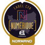 Badge Gold CFA numérique normand