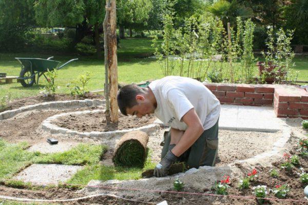 jardinier espaces verts