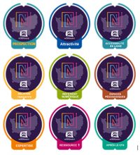 badges label numérique normand