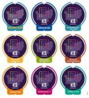 badges label numérique normand