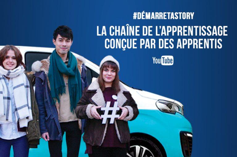 chaine youtube Apprentissage par des apprentis - Yvetot - Seine Maritime - CFA - Naturapôle