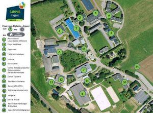 visite virtuelle du campus d'Yvetot
